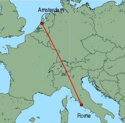 Cheap flights from Rome (Fiumicino) to Amsterdam with ...