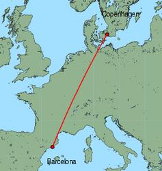 Cheap Flights From Copenhagen To Barcelona With Norwegian