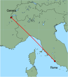 Cheap Flights From Geneva To Rome Fiumicino With Easyjet