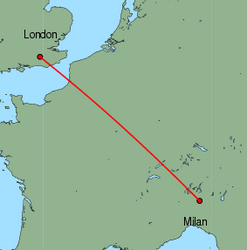 flights to milan from gatwick - photo#4